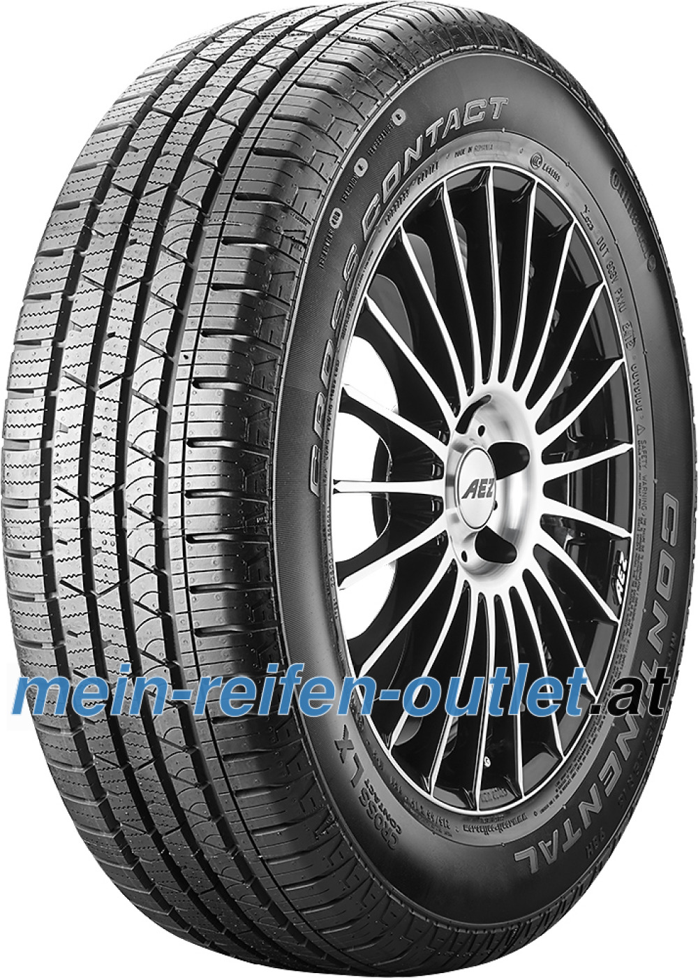 Continental ContiCrossContact LX ( 255/60 R18 112V XL ,mit Felgenrippe )