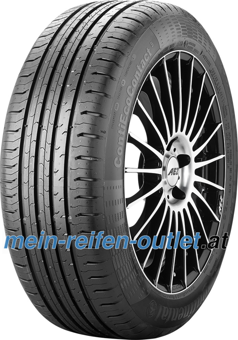 Continental EcoContact 5 ( 195/60 R16 93V XL )