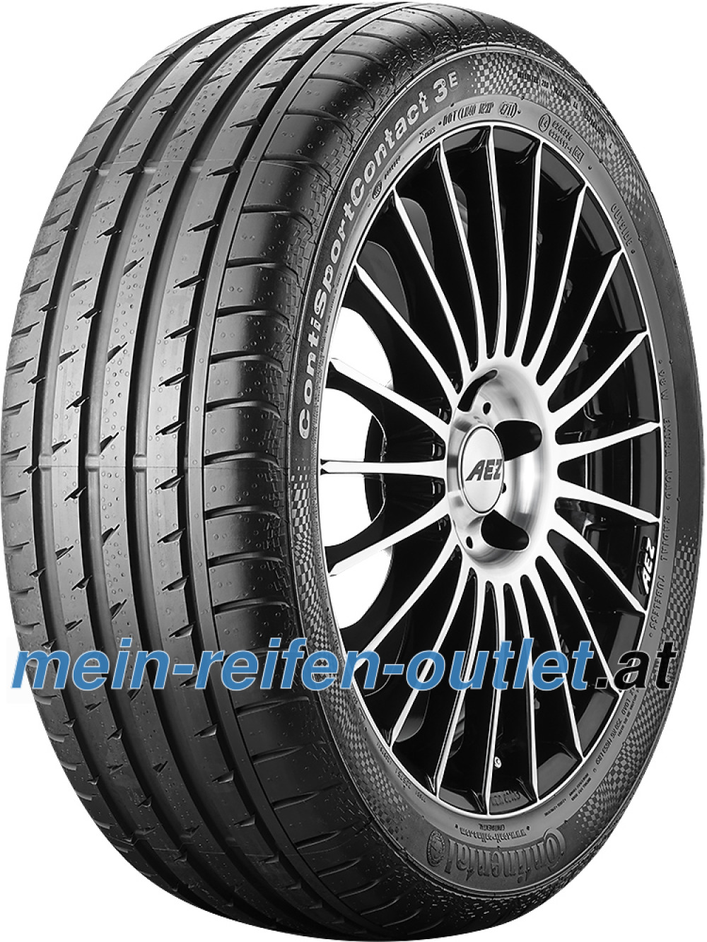 Continental ContiSportContact 3 E SSR ( 245/45 R18 96Y runflat, * )