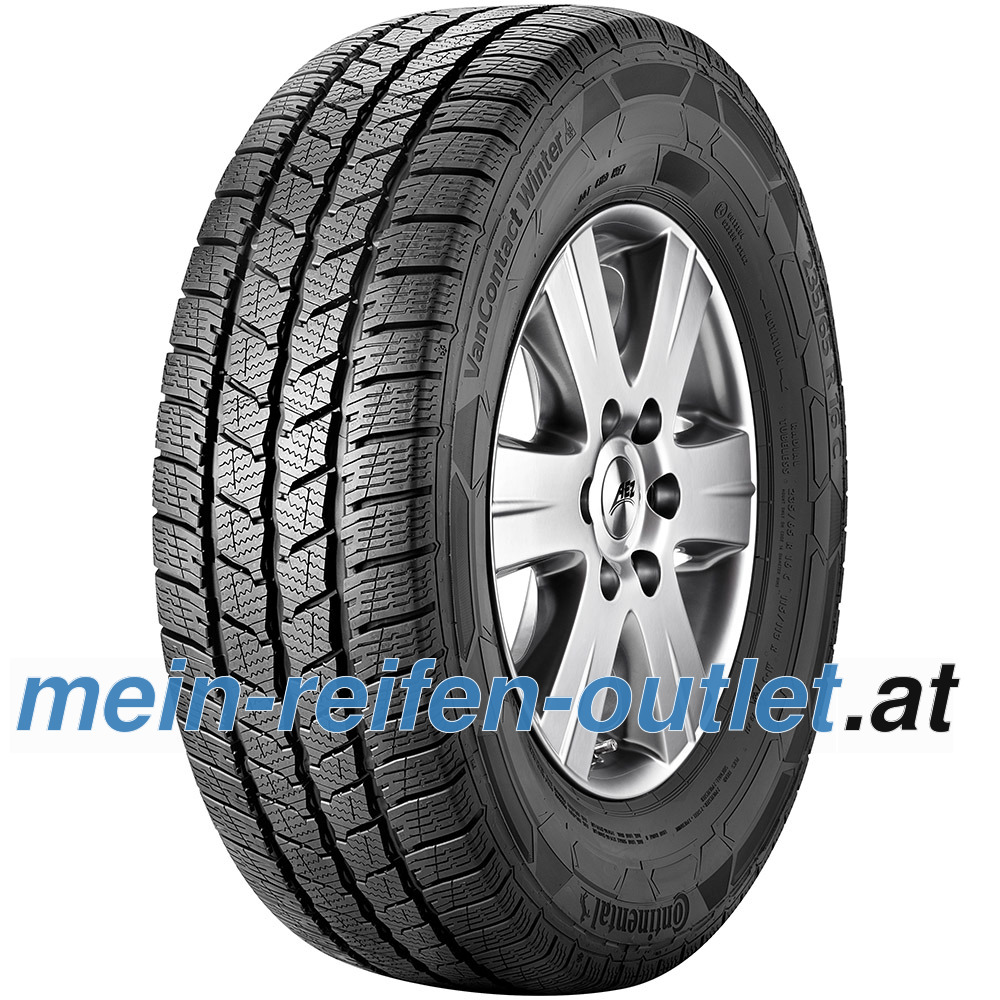 Continental VanContact Winter ( 185/75 R16C 104/102R 8PR )