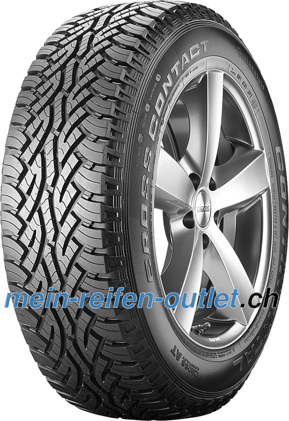 Continental ContiCrossContact AT ( 245/70 R16 111S XL mit Felgenrippe )