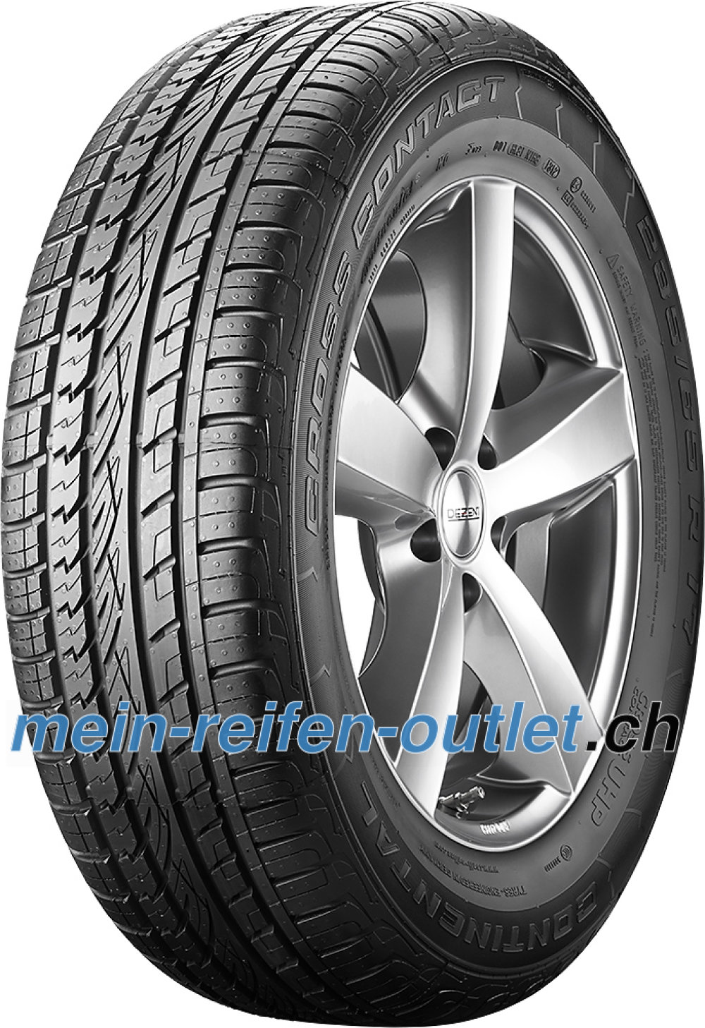 Continental ContiCrossContact UHP ( 265/50 R20 111V XL mit Felgenrippe )