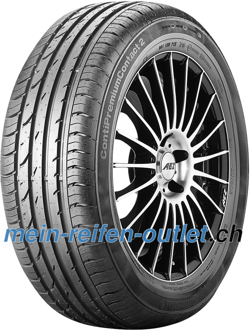 Continental PremiumContact 2 ( 195/50 R15 82T mit Felgenrippe )