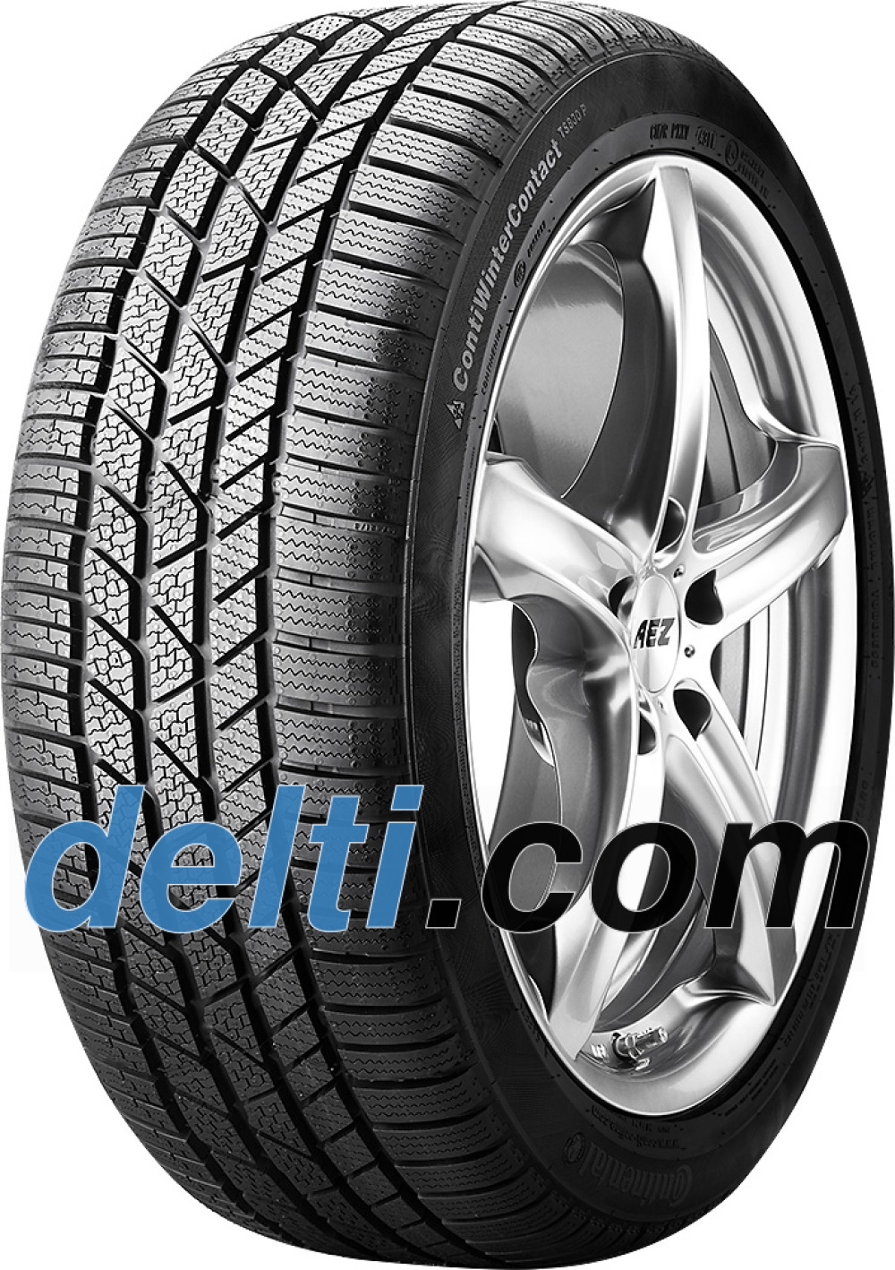 Continental WinterContact TS 830P ( 265/30 R20 94V XL , mit Felgenrippe, RO1 )