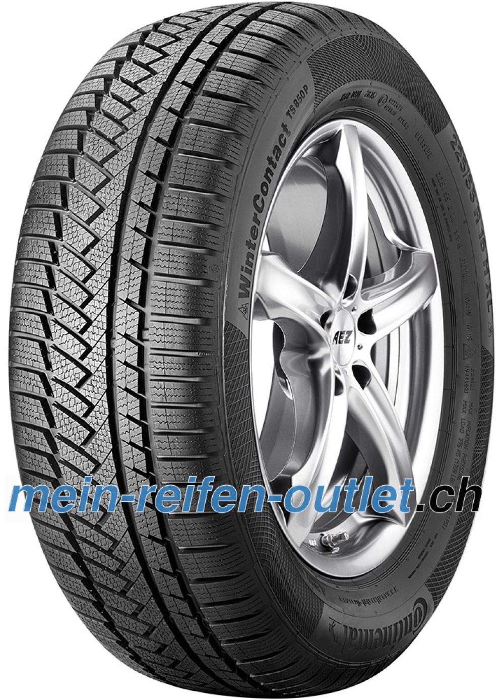 Continental WinterContact TS 850P ( 215/50 R18 92V mit Felgenrippe, SUV )
