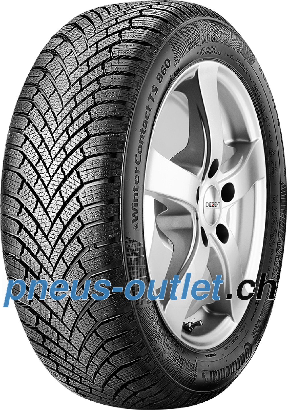 Continental WinterContact TS 860 ( 205/55 R16 91T )