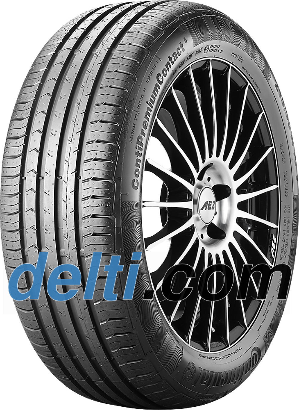 Continental PremiumContact 5 ( 195/65 R15 91T )