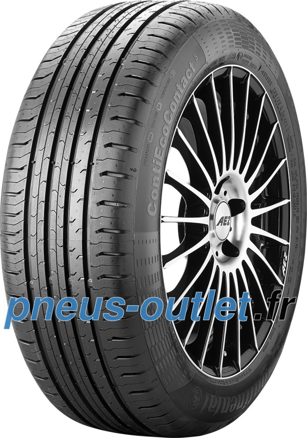 Continental EcoContact 5 ( 205/60 R16 92H MO )