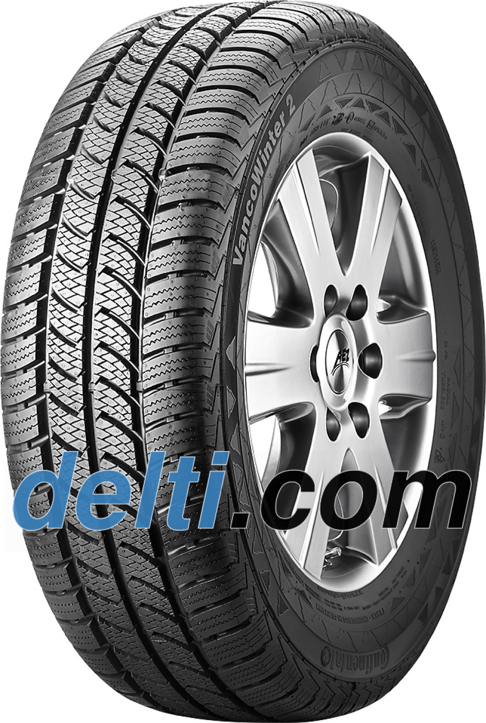 Continental VancoWinter 2 ( 225/55 R17C 109/107T 8PR , Double marquage 104T )