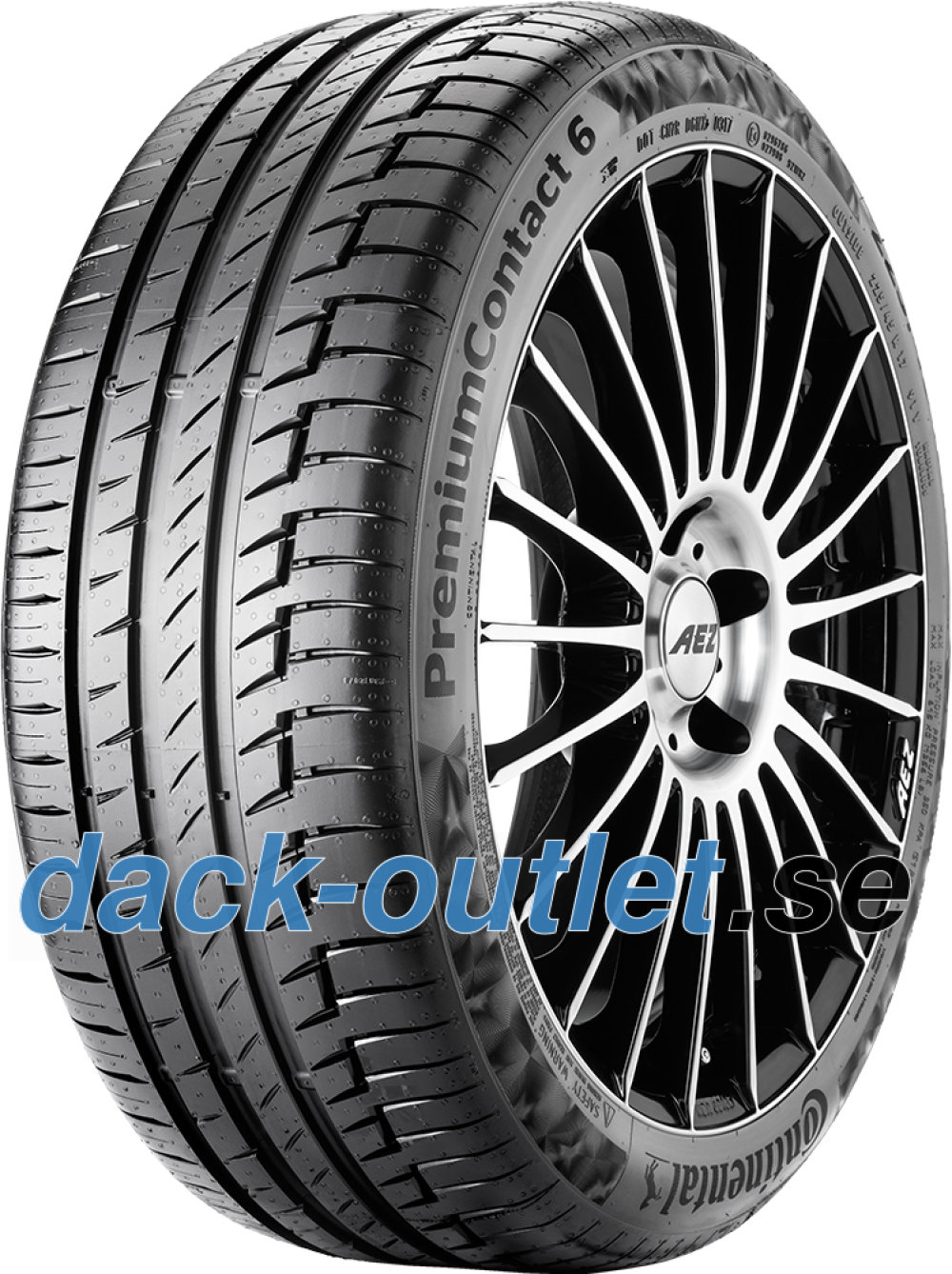 Continental PremiumContact 6 ( 235/65 R19 109W XL med fälgskydd )
