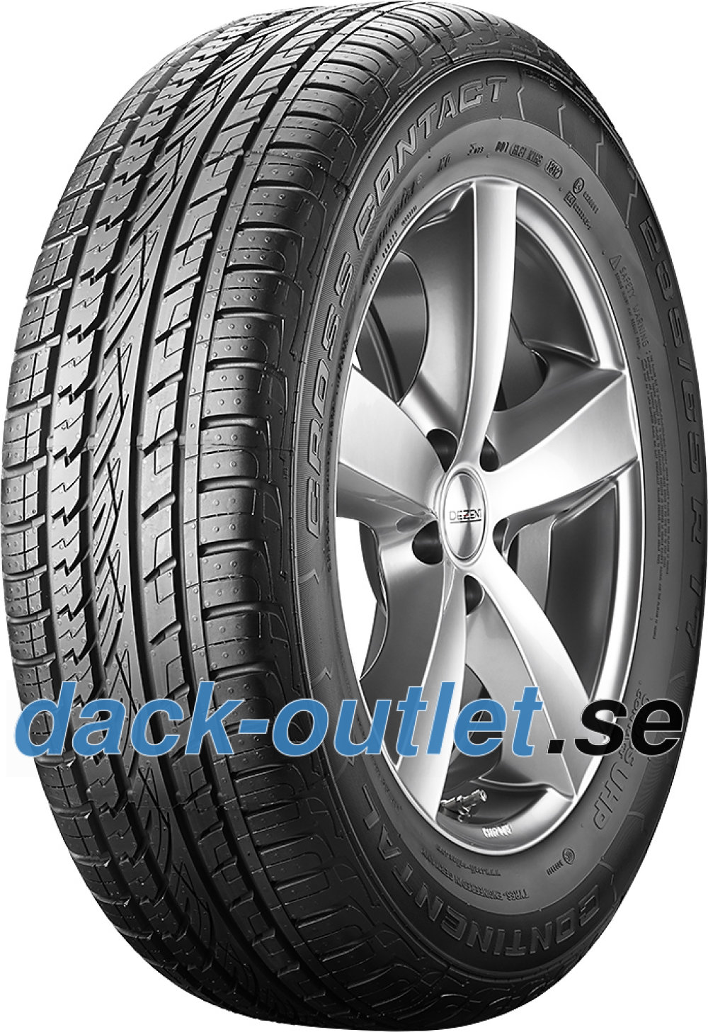 Continental ContiCrossContact UHP ( 285/50 ZR20 116W XL med fälgskydd )