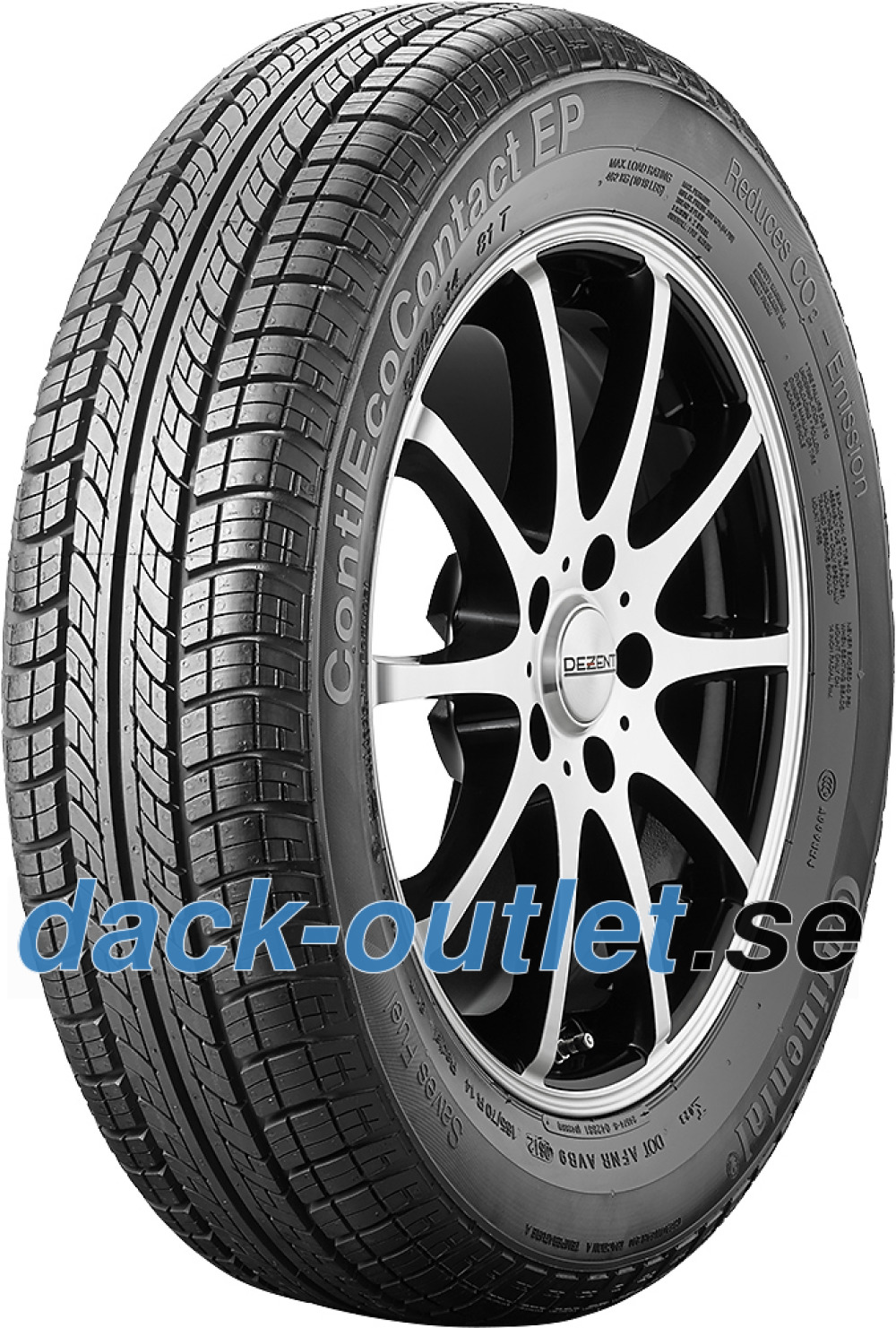 Continental EcoContact EP ( 145/65 R15 72T med fälgskydd )