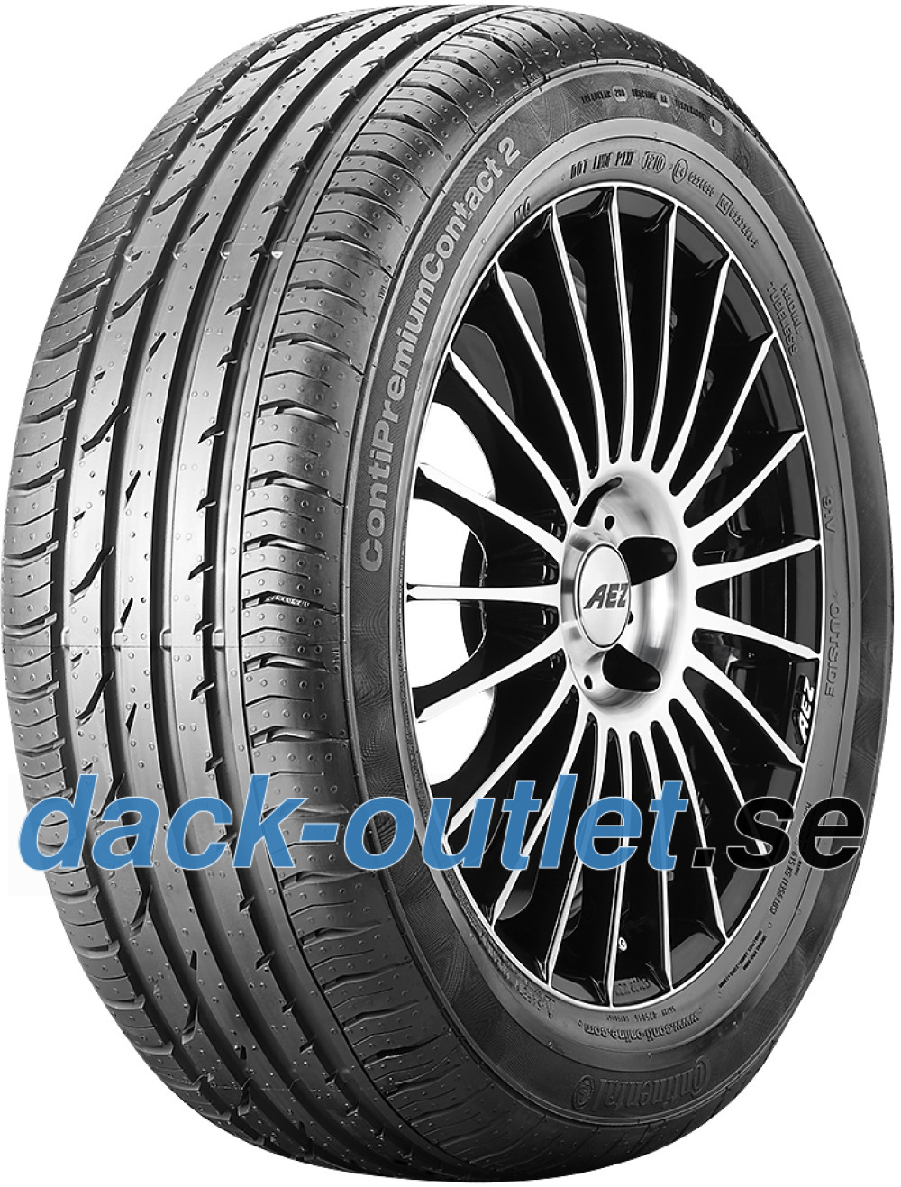 Continental PremiumContact 2 ( 205/55 R17 95H XL med fälgskydd )