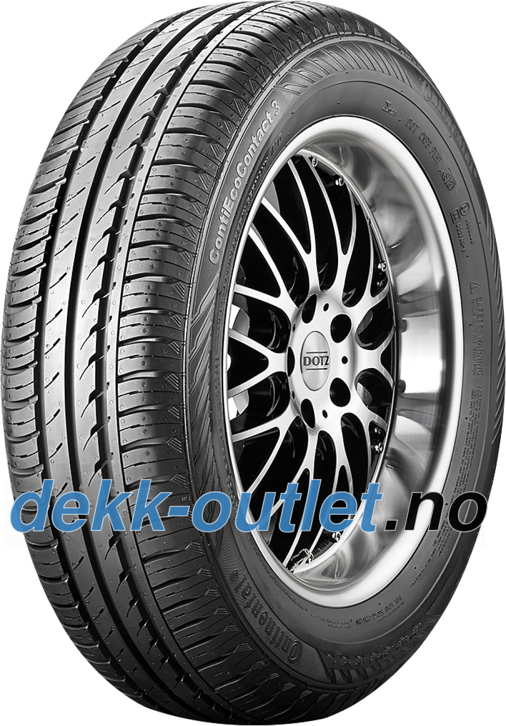 Continental EcoContact 3 ( 175/65 R14 82T )