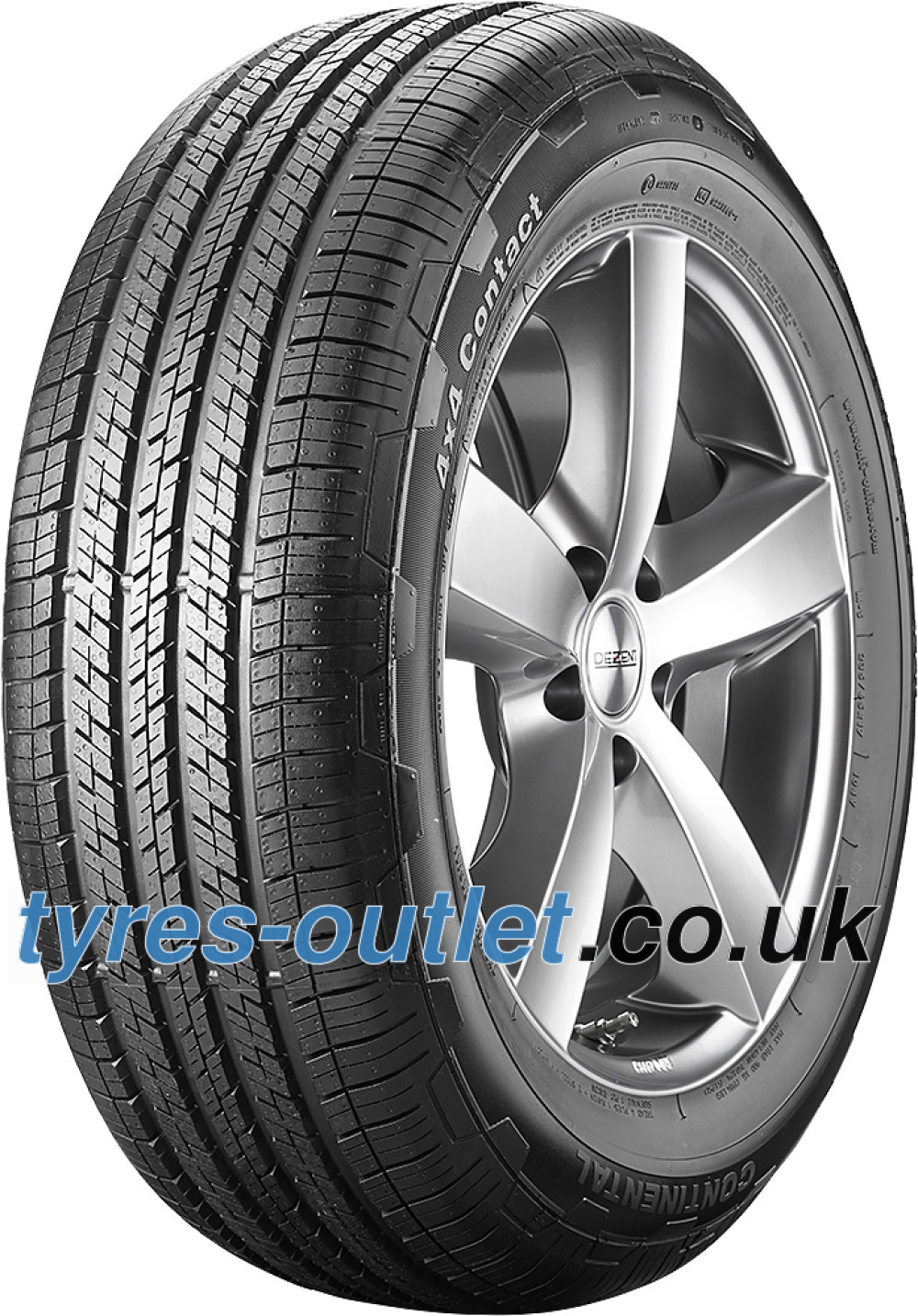Continental 4X4 Contact ( 195/80 R15 96H )