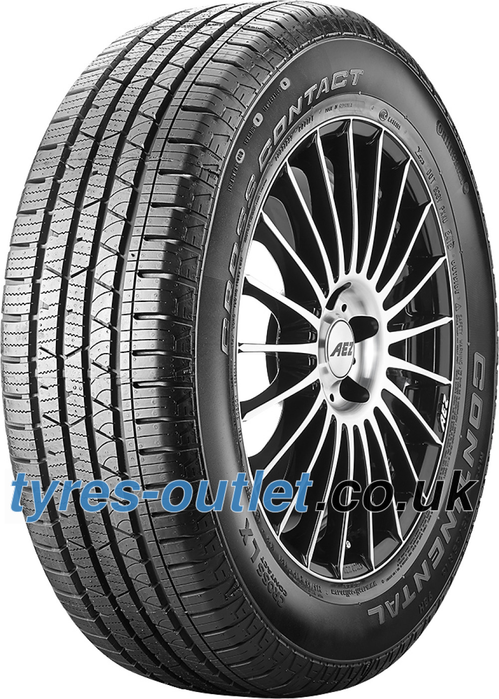 Continental ContiCrossContact LX ( 275/40 R22 108Y XL ,with kerbing rib )