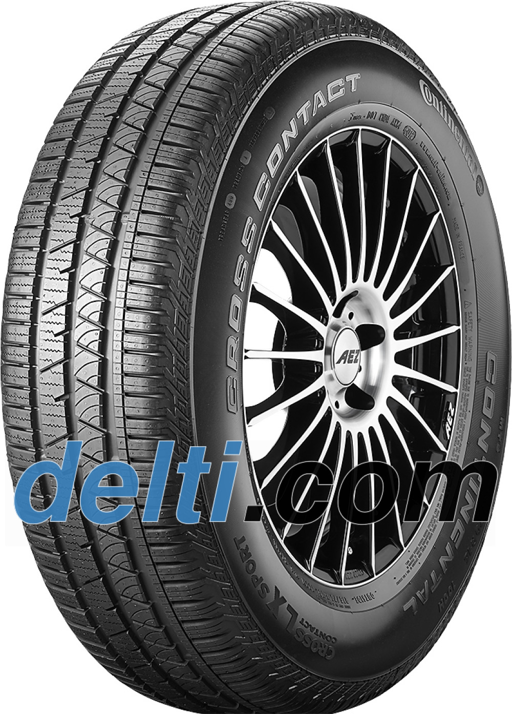 Continental ContiCrossContact LX Sport ( 235/55 R19 101H with kerbing rib,AO )