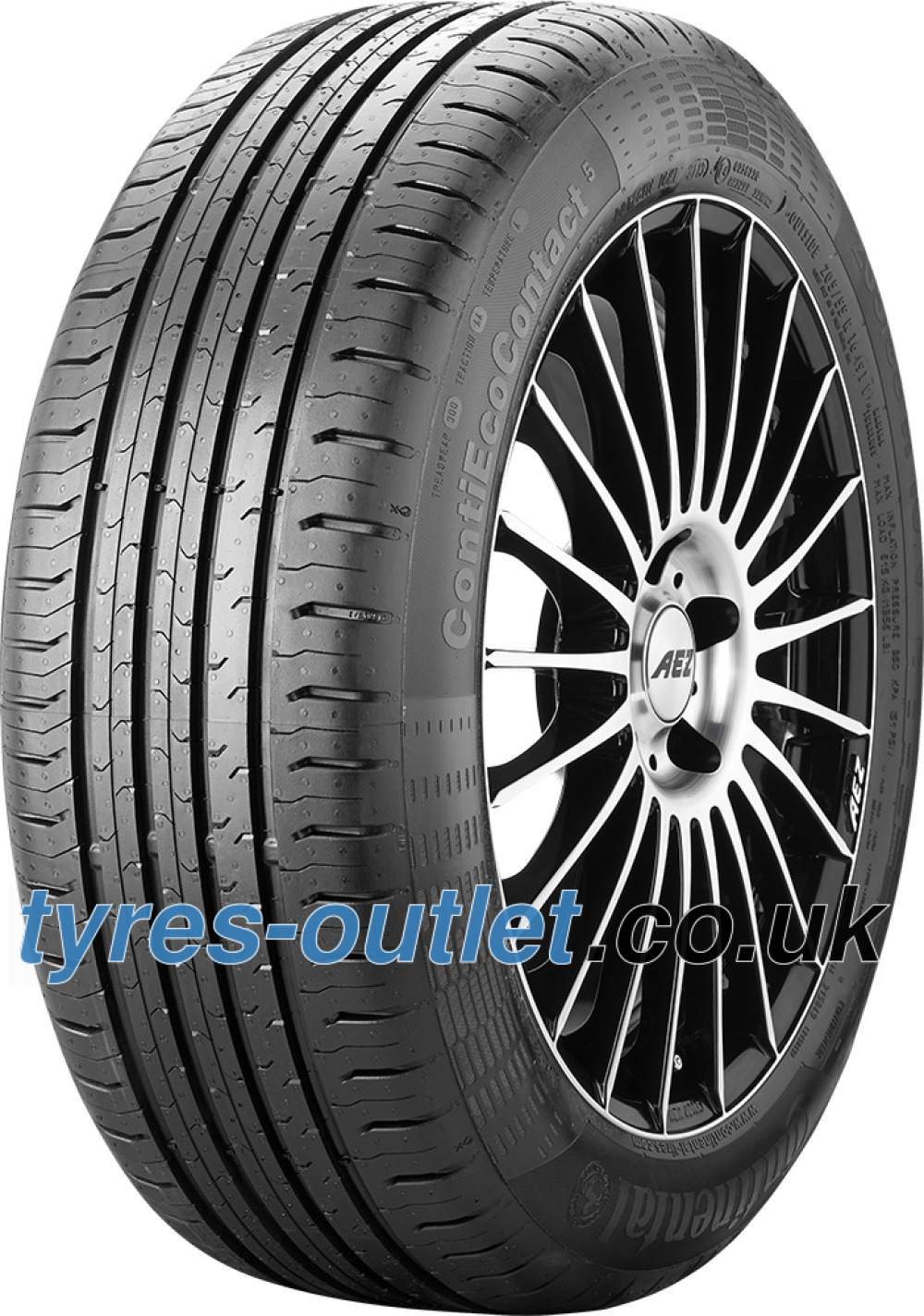 Continental EcoContact 5 ( 195/60 R16 93H XL )