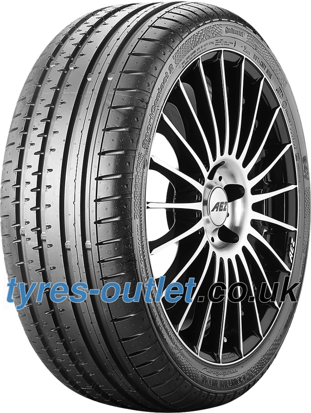 Continental SportContact 2 ( 265/40 ZR21 105Y XL MO, with kerbing rib )