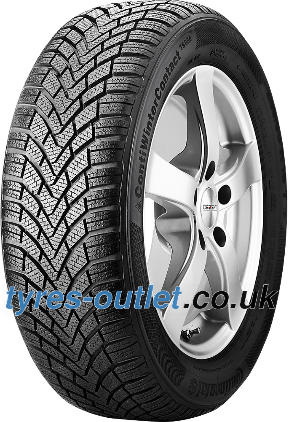 Continental WinterContact TS 850 ( 185/60 R14 82T )