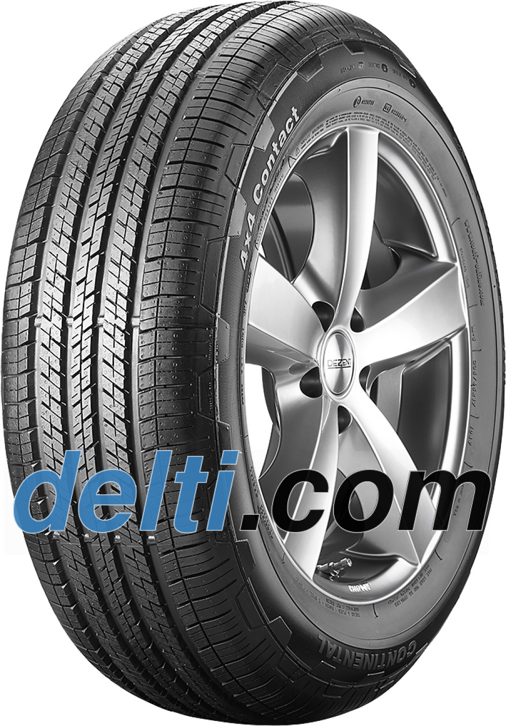 Continental 4X4 Contact ( 235/50 R19 99V , MO, med liste )