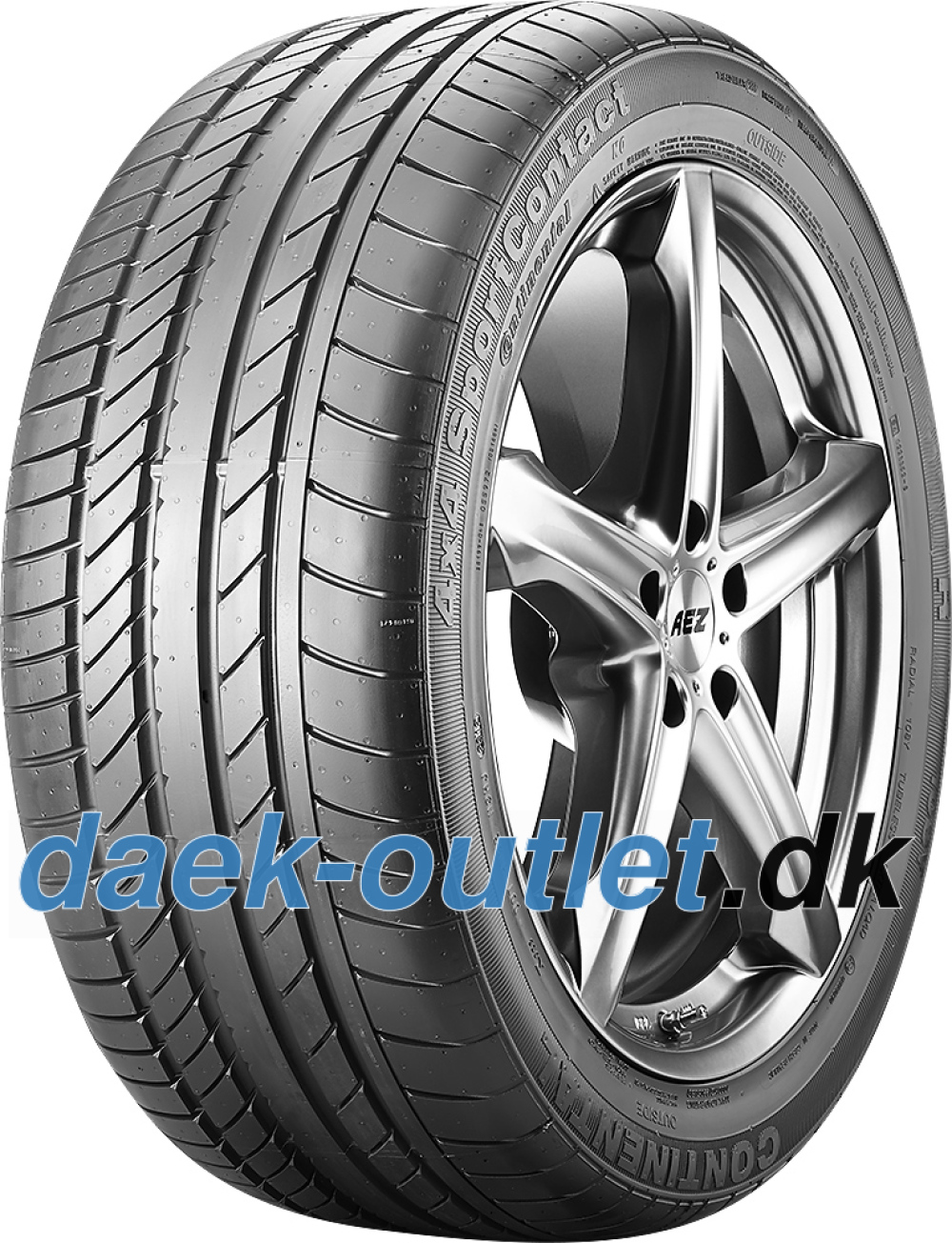 Continental 4X4 SportContact ( 275/45 R19 108Y XL Med fælgribbe, N0 )