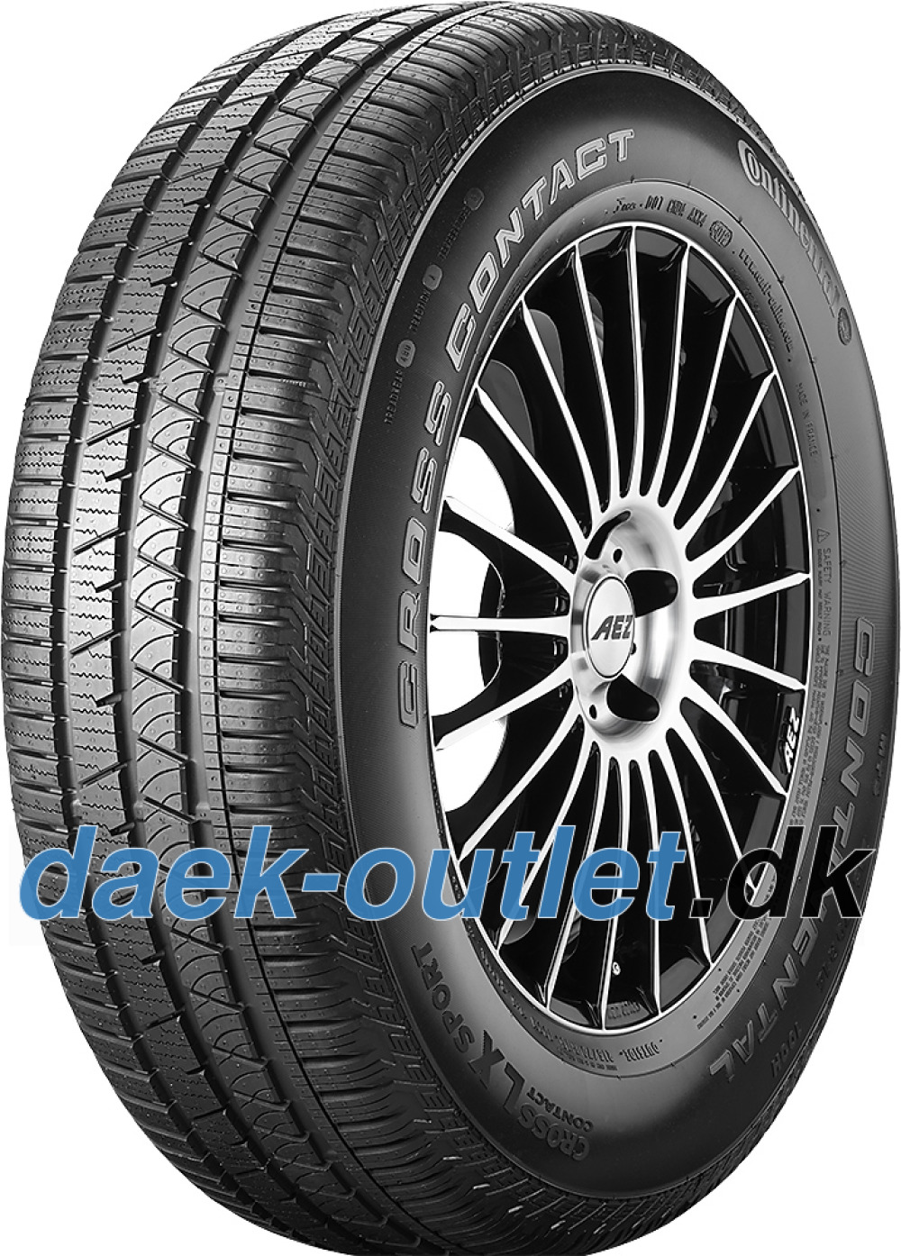 Continental ContiCrossContact LX Sport ( 255/55 R18 109V XL , N0, Med fælgribbe )