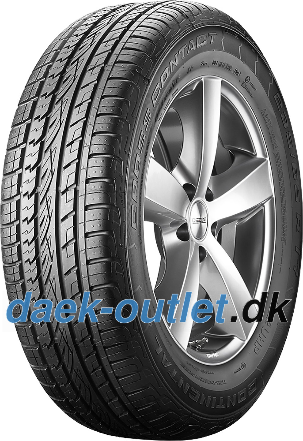 Continental ContiCrossContact UHP ( 255/55 R18 109Y XL N1, Med fælgribbe )