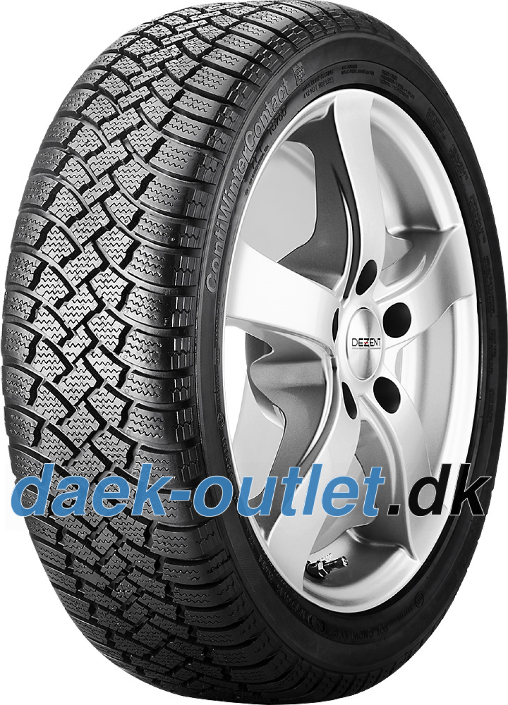 Continental ContiWinterContact TS 760 ( 135/70 R15 70T , Med fælgribbe )