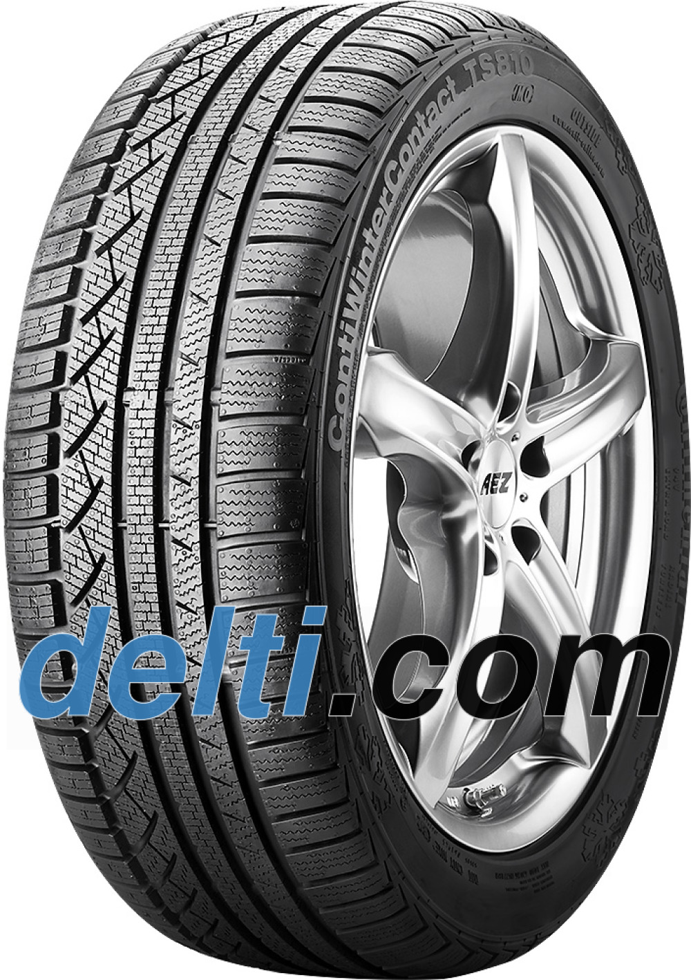 Continental WinterContact TS 810 ( 195/60 R16 89H , med liste, MO )