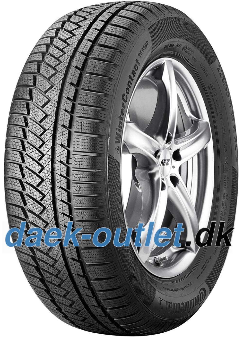 Continental WinterContact TS 850P ( 225/55 R16 95H )