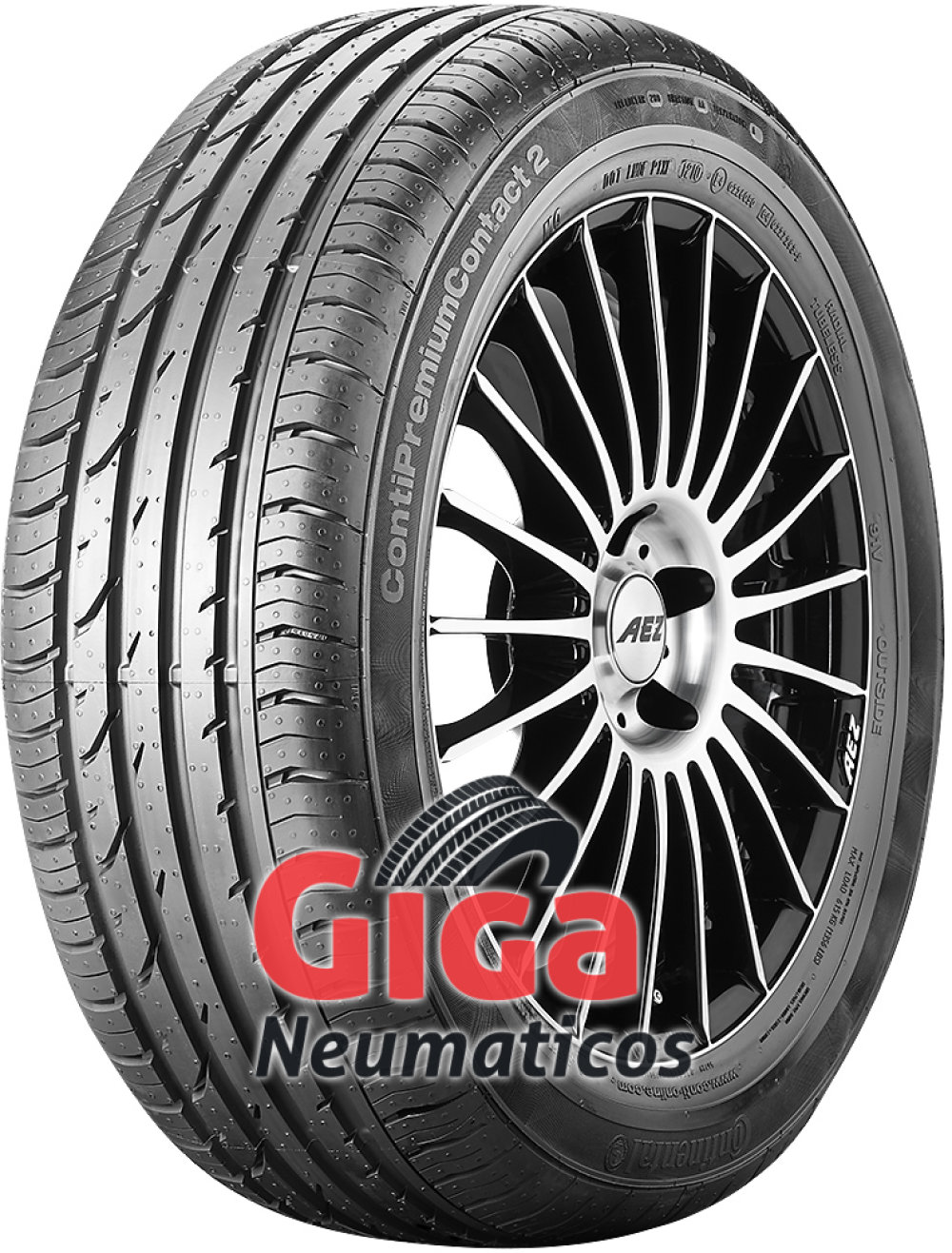 Continental PremiumContact 2 SSR ( 205/50 R17 89W runflat, * )