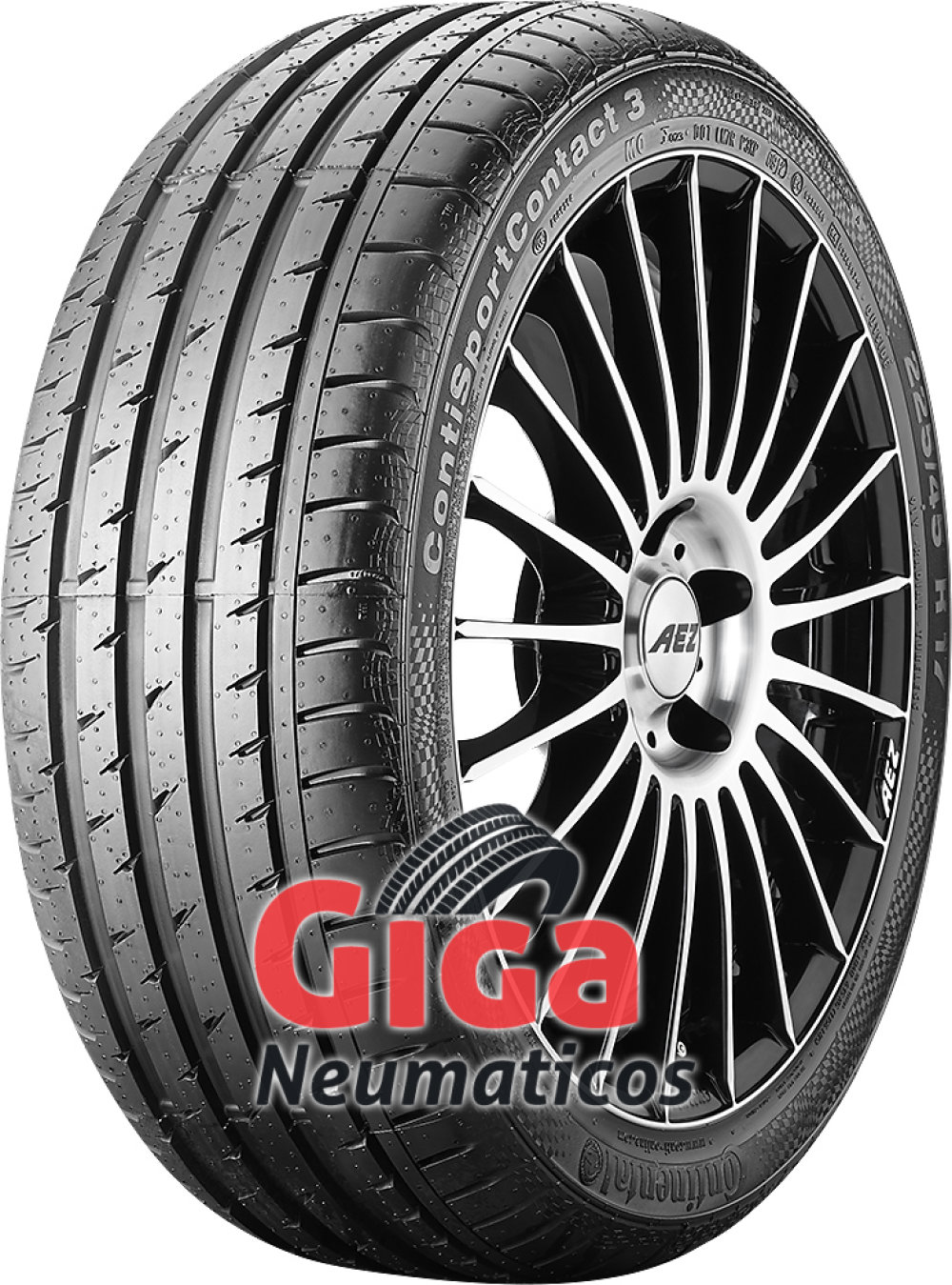 Continental ContiSportContact 3 ( 235/40 R19 96W XL )