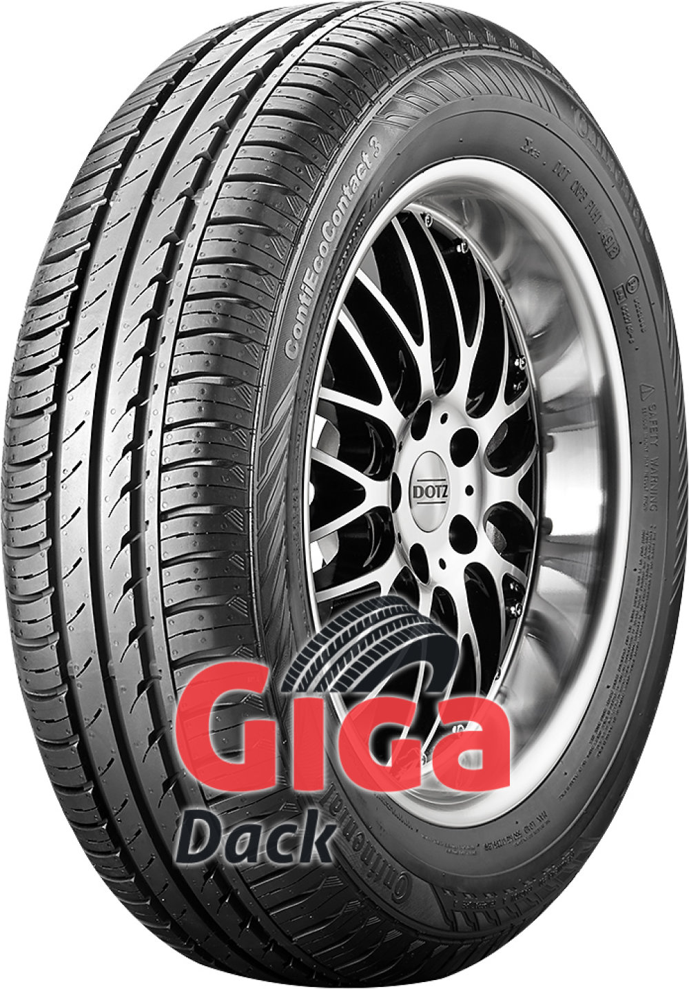 Continental ContiEcoContact 3 ( 165/60 R14 75T )