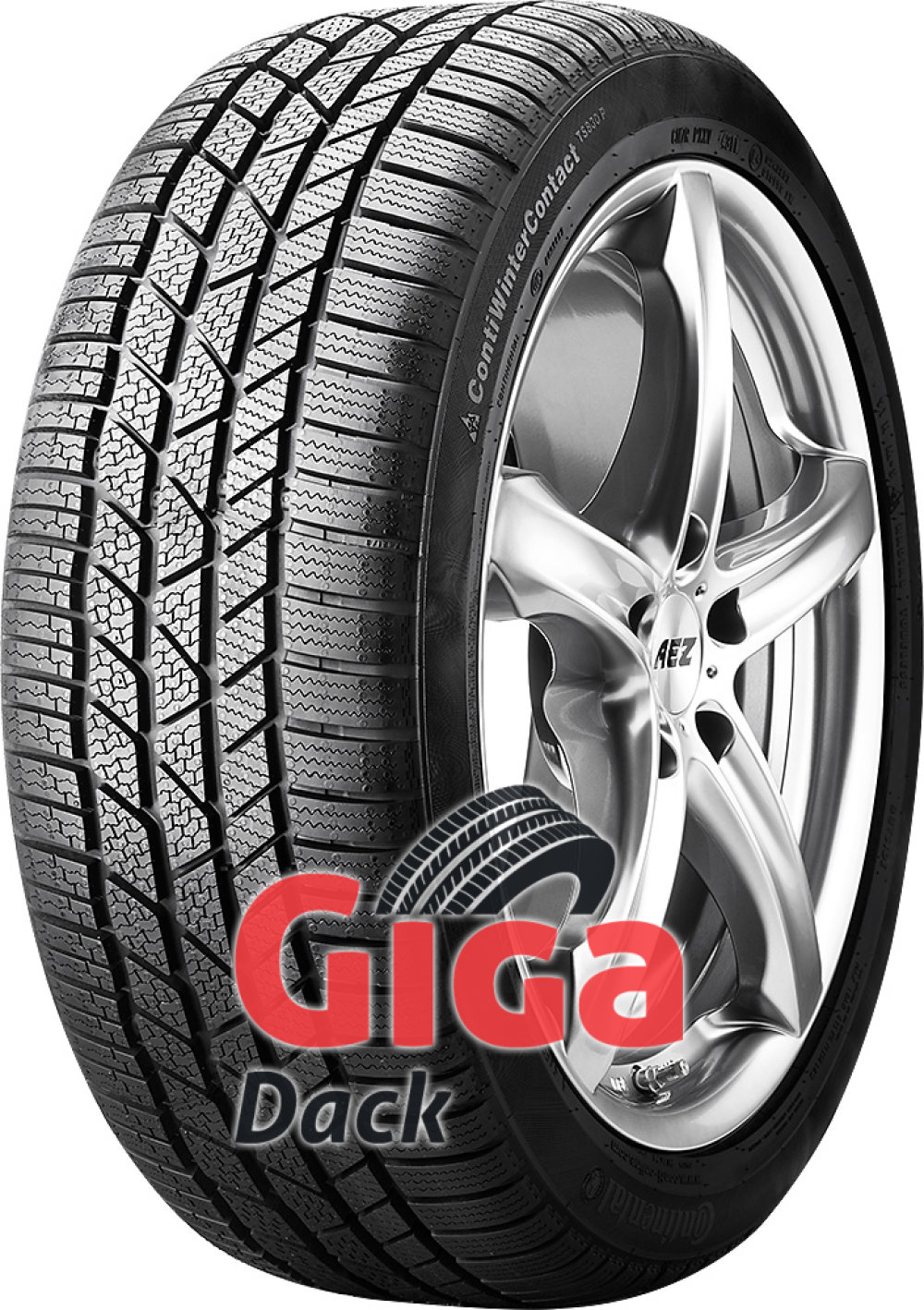 Continental WinterContact TS 830P ( 235/55 R17 99H AO )