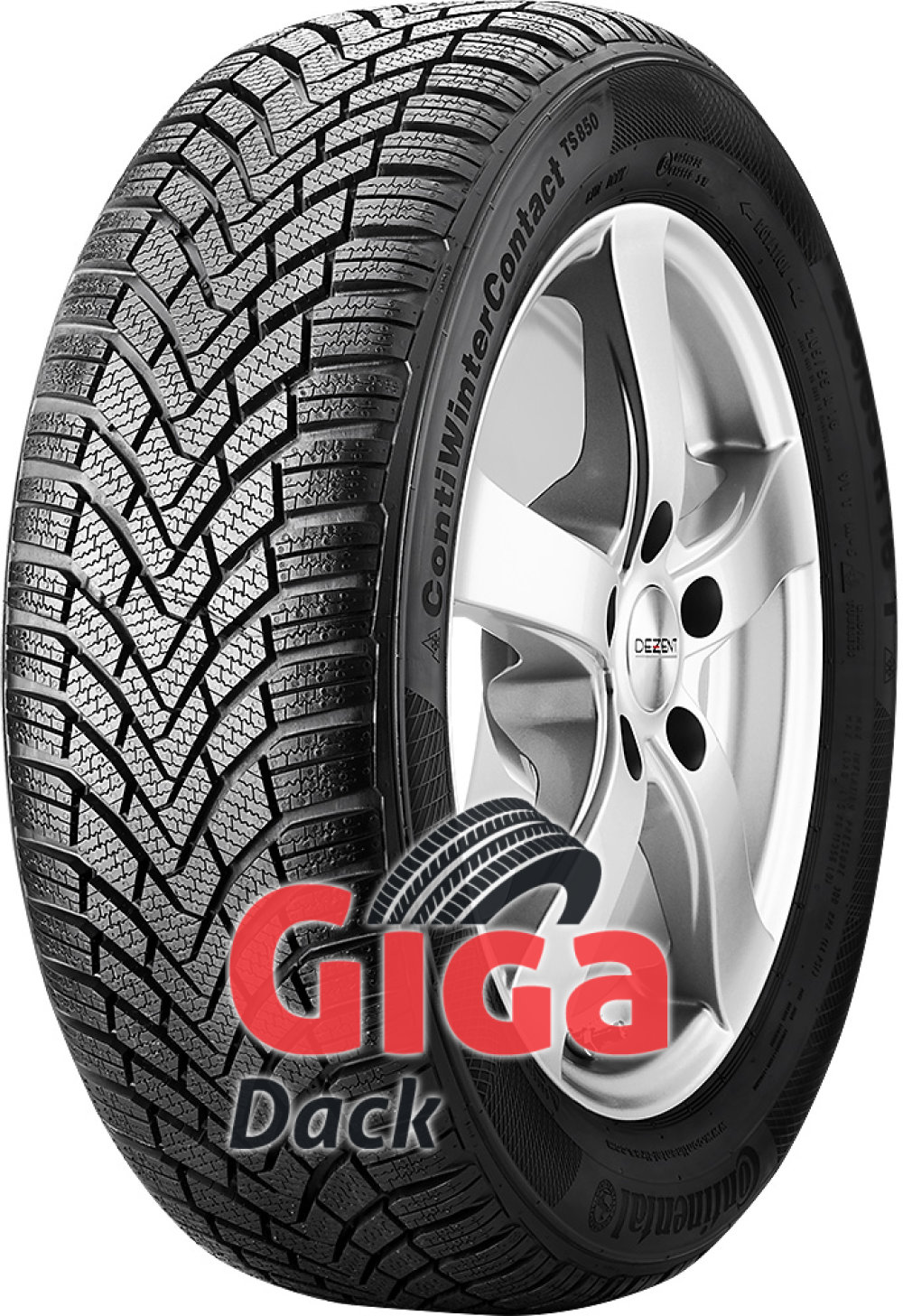 Continental ContiWinterContact TS 850 ( 205/60 R15 91T )