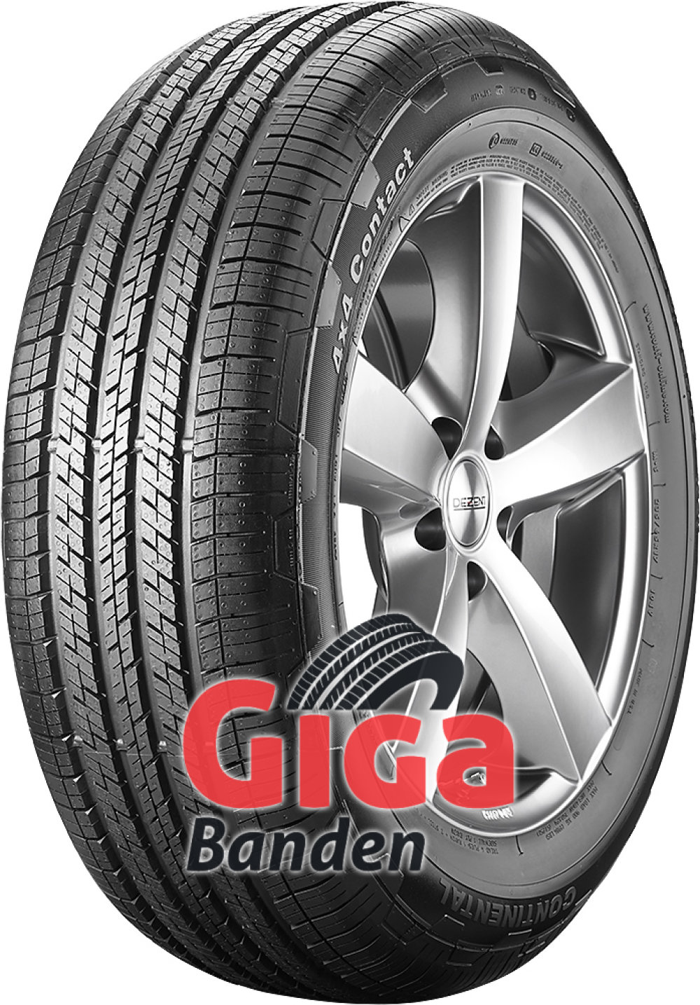 Continental 4x4 Contact ( 235/70 R17 111H XL )