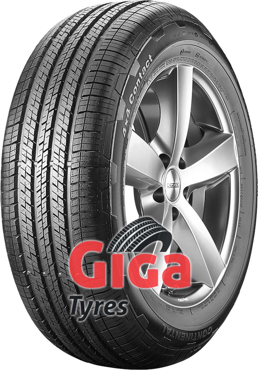 Continental 4X4 Contact ( 275/55 R19 111H , MO, with kerbing rib, with ridge  )