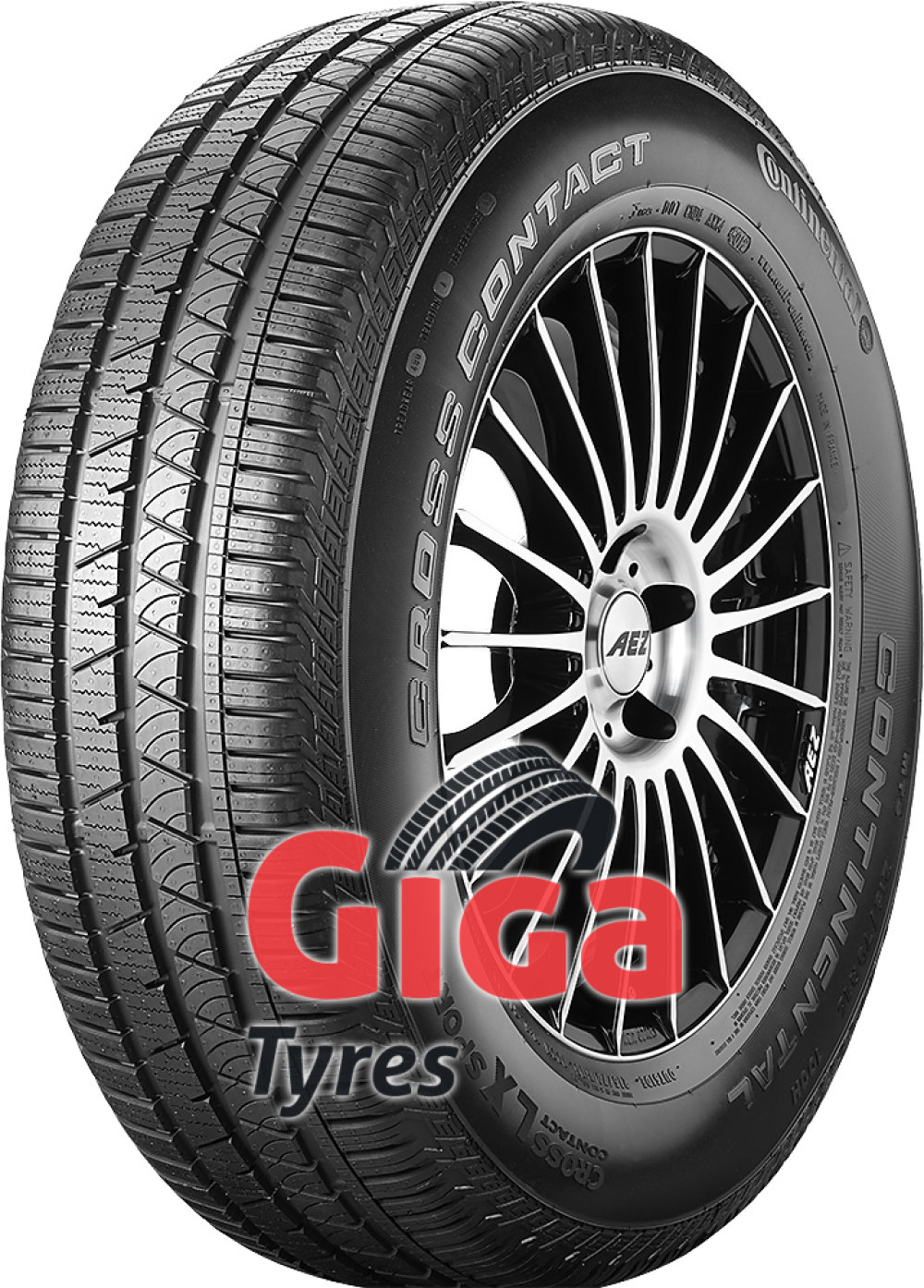 Continental ContiCrossContact LX Sport ( 255/55 R18 109H XL with kerbing rib )