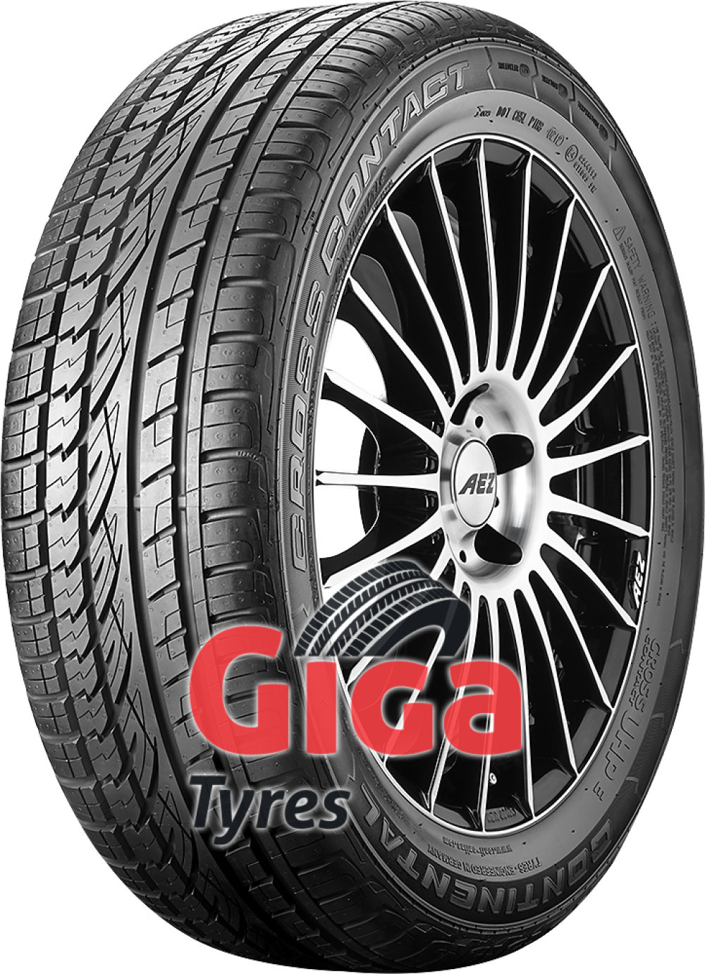 Continental ContiCrossContact UHP E ( 225/55 R18 98V with kerbing rib )
