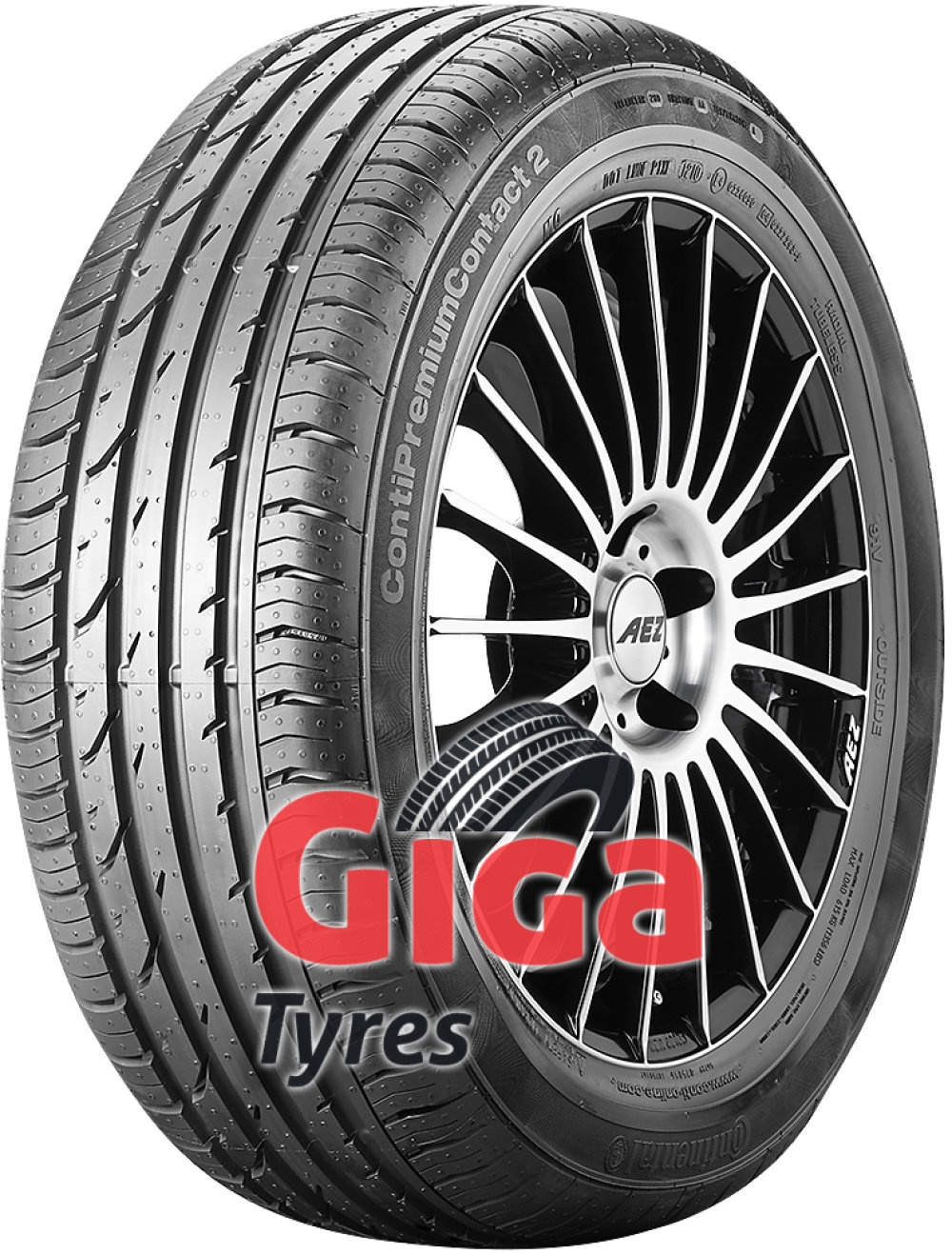 Continental ContiPremiumContact 2 ( 165/70 R14 81T )