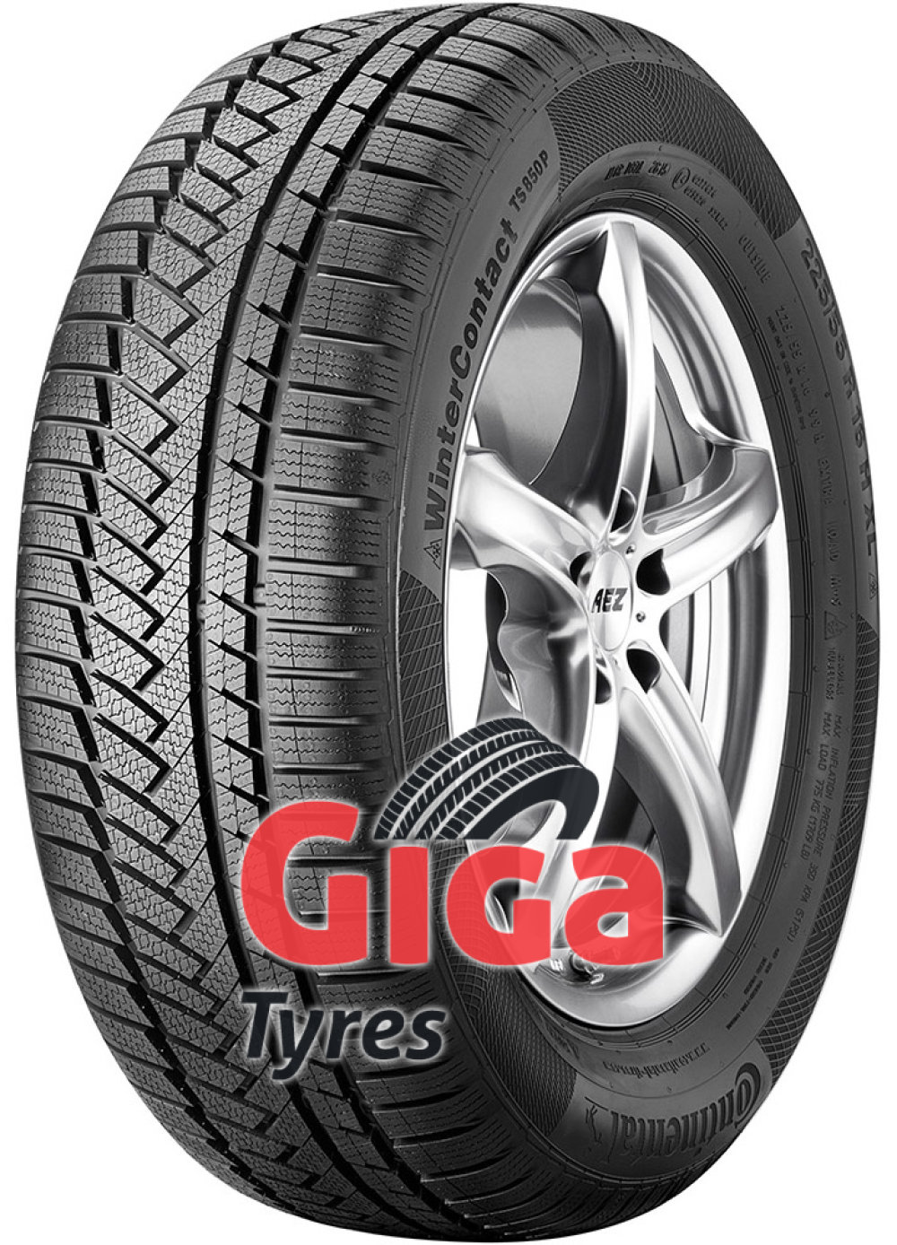 Continental WinterContact TS 850P ( 235/60 R20 108V XL , SUV, with kerbing rib )