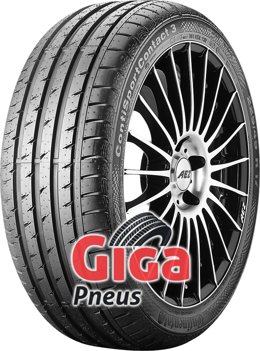 Continental ContiSportContact 3 ( 225/45 R17 91W * )
