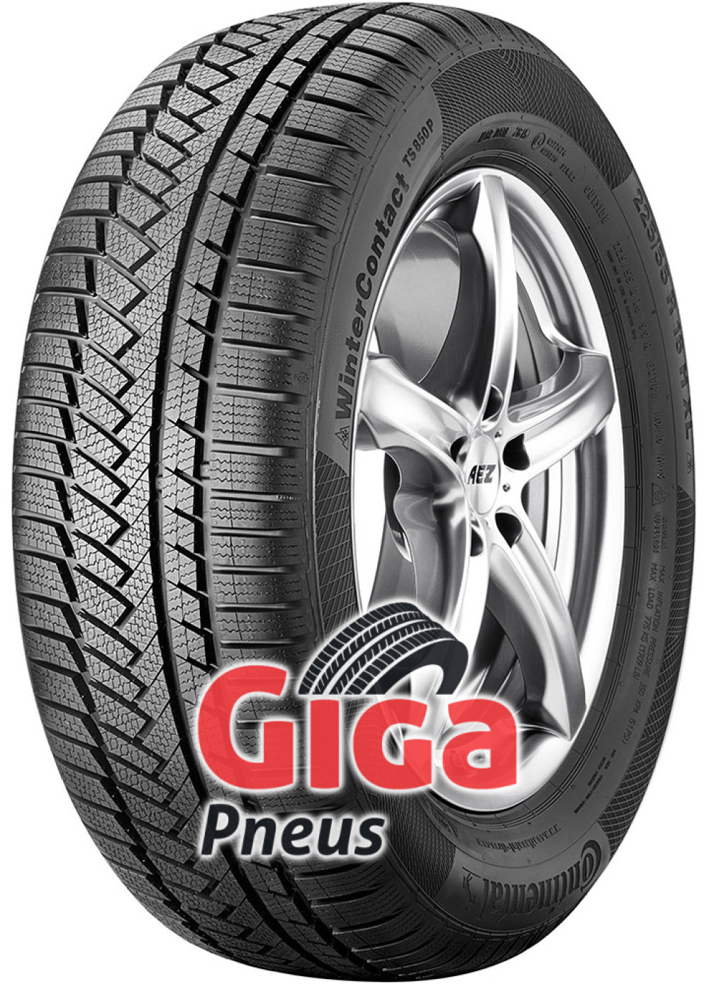 Continental WinterContact TS 850P ( 225/55 R17 97H )