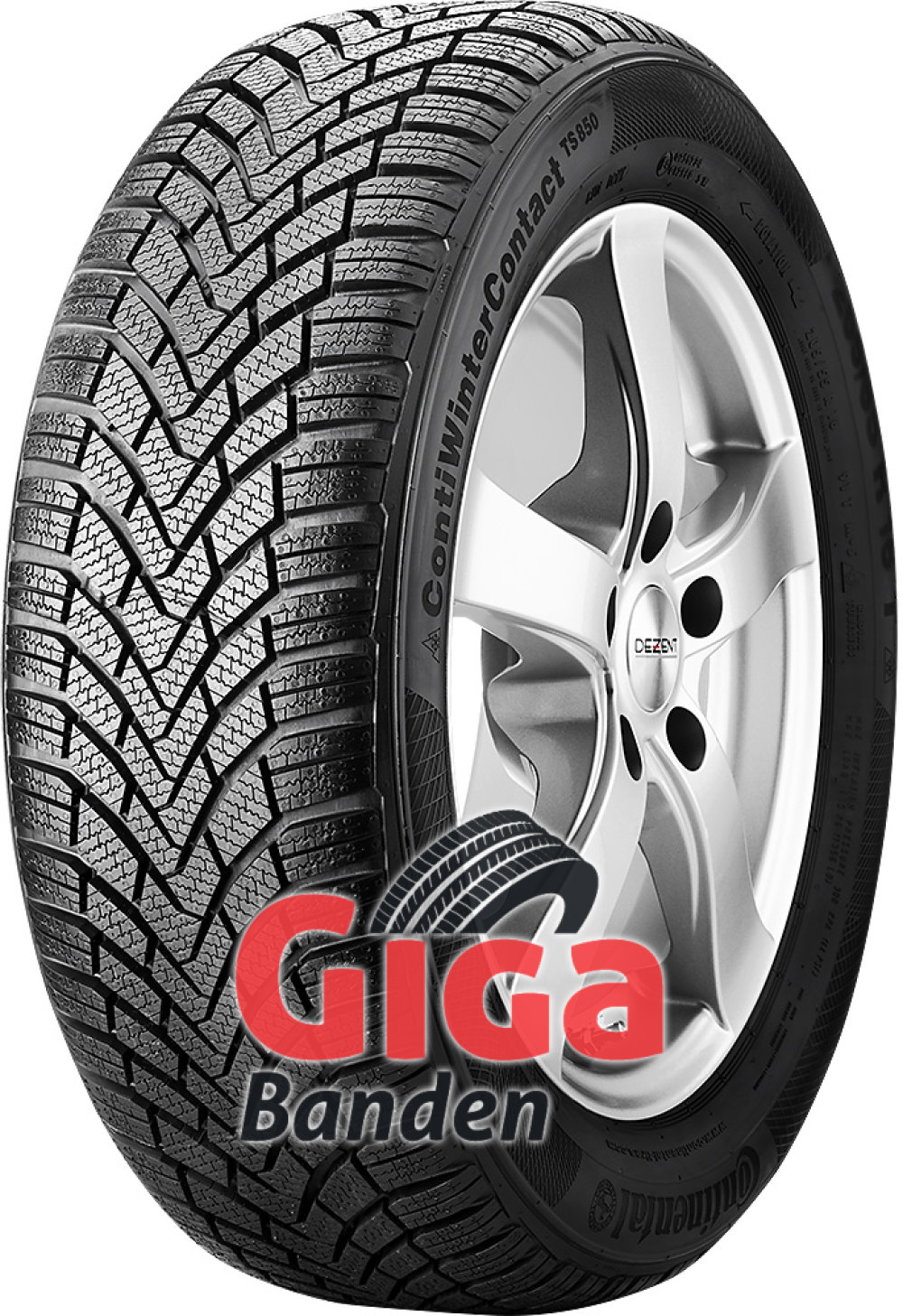 Continental WinterContact TS 850 ( 215/55 R16 93H )