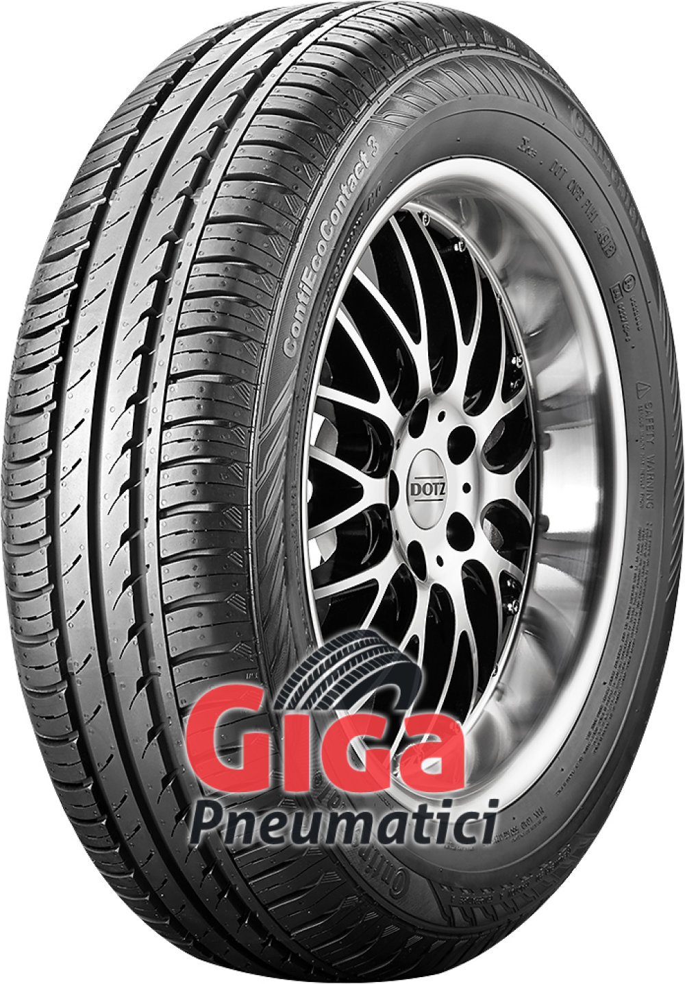 Continental EcoContact 3 ( 165/60 R14 79T XL )