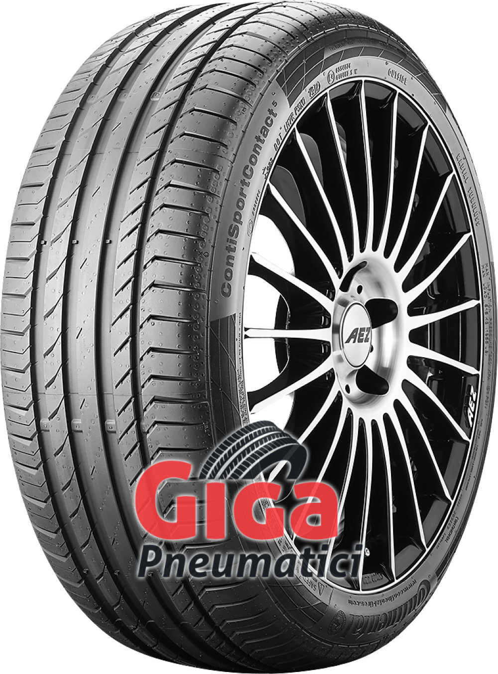 Continental ContiSportContact 5 ( 245/55 R19 103H )