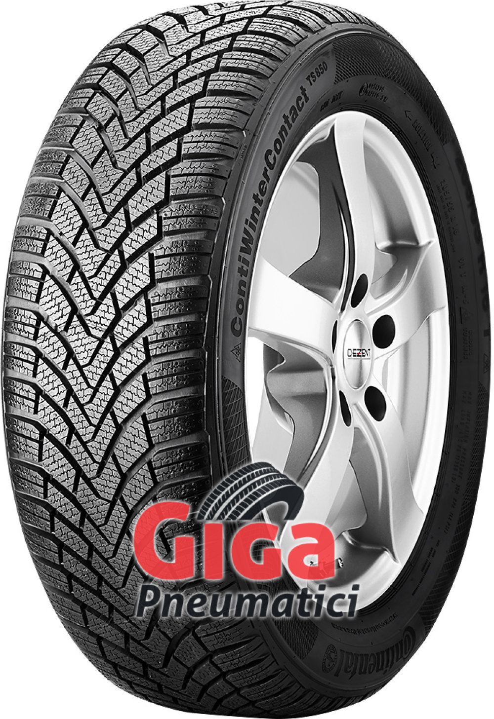 Continental ContiWinterContact TS 850 ( 155/65 R14 75T )