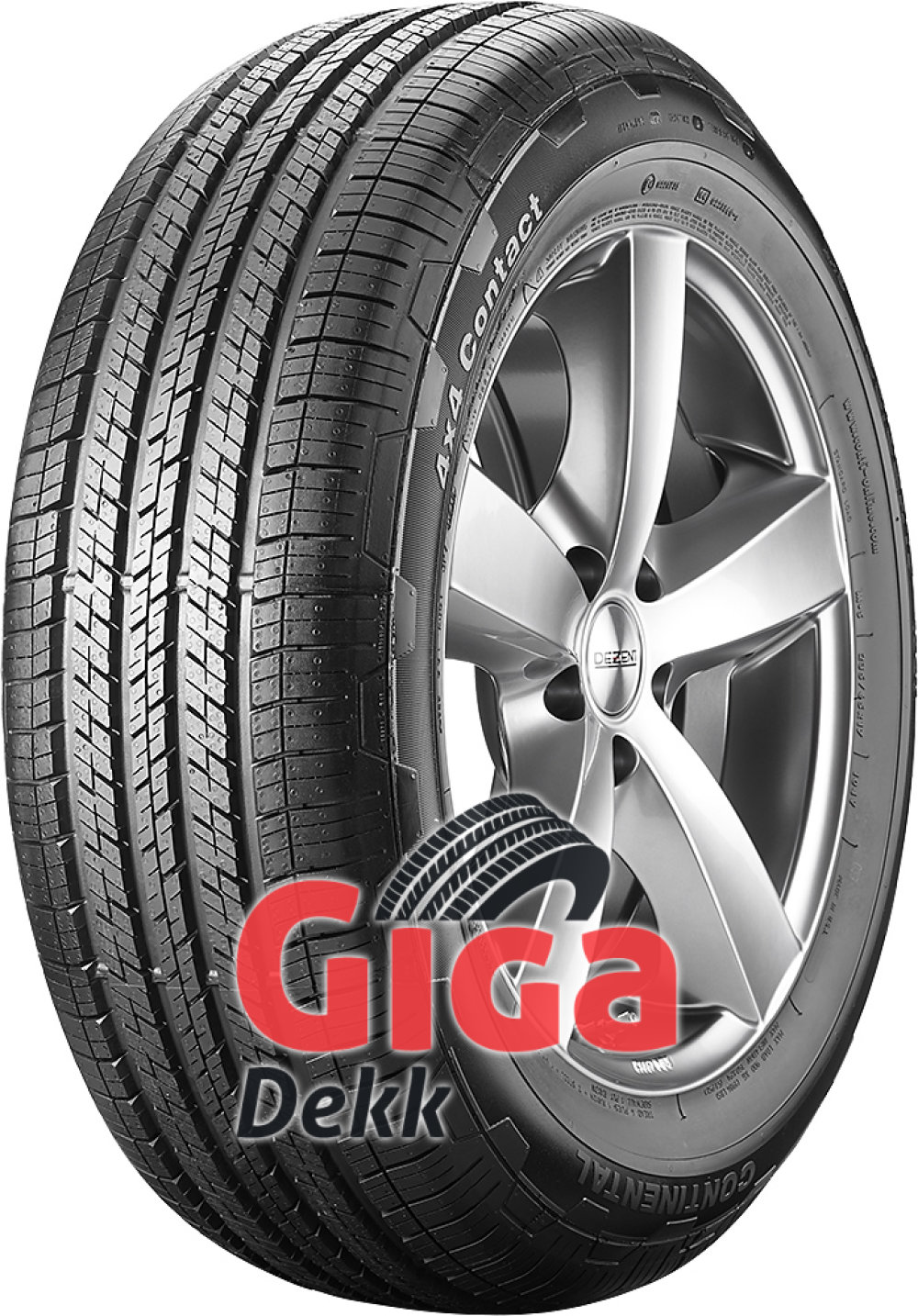 Continental 4x4 Contact ( 255/50 R19 107H XL ,med list,MO )