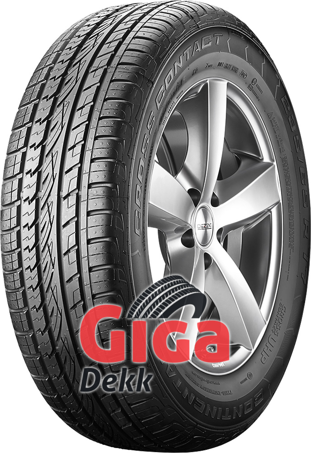 Continental ContiCrossContact UHP ( 255/50 R19 103W MO, med felgkant, med list )